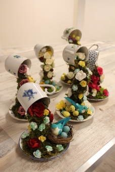 Teacup decor