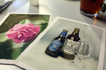 Watercolours with Wout and Craftehv