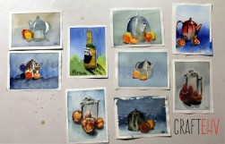 Craftehv Wout's watercolours