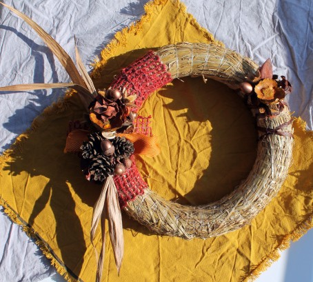 Autumn wreath by Eindhoven Craft Group
